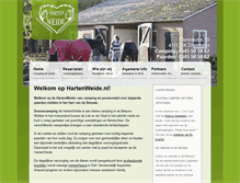 Tablet Preview of hartenweide.nl